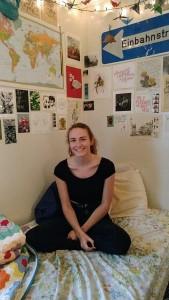 Working on campus - Amanda Spencer